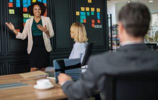 GrowFact unterstützt Sie dabei Ideen so zu präsentieren, dass Führungskräfte schnelle Entscheidungen treffen können.