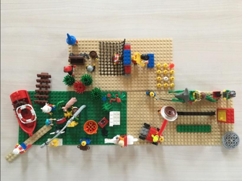 Mithilfe von Lego Serious Play lassen sich Strategien, Visionen und Teams entwickeln.