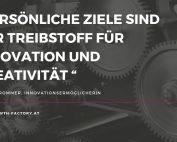 Ziele helfen dabei Freiräume für Innovation zu schaffen
