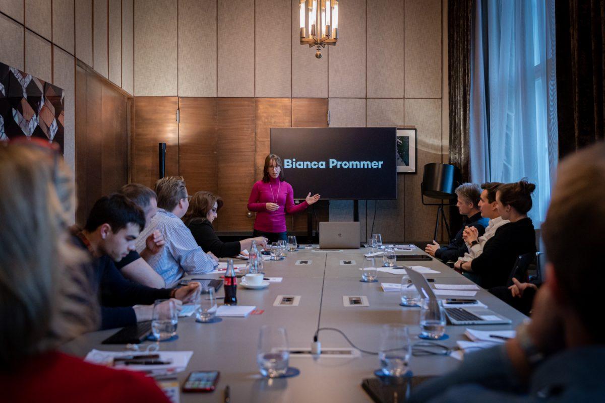 Bianca Prommer bildet Innovationsmanager aus