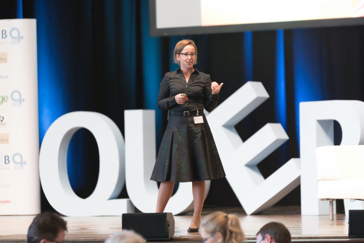 Bianca Prommer als Keynote Speaker beim Querdenkerkongress